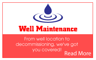 Well maintenance | Read more